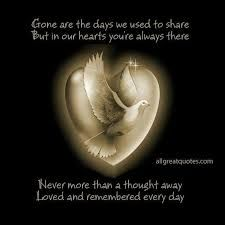 Image result for always in our hearts poem