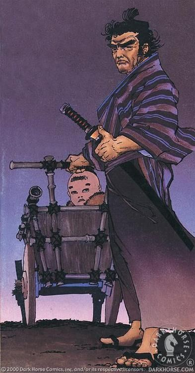 Lone Wolf and Cub by Frank Miller... from ogami itto to Ajani Heathrow