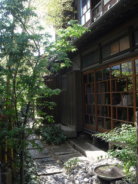 日本家屋、庭/japanese traditionnal house, garden