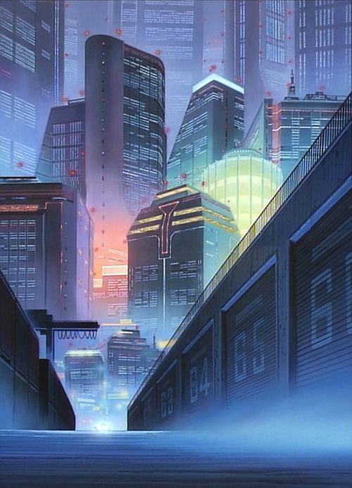 #cyberpunk #anime #city | Cyberpunk, Post-apocalyptic ...
