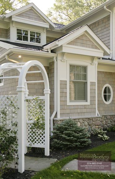 Best Garden Arch Azek Trim Complete The Charm Of The Custom 400 x 300