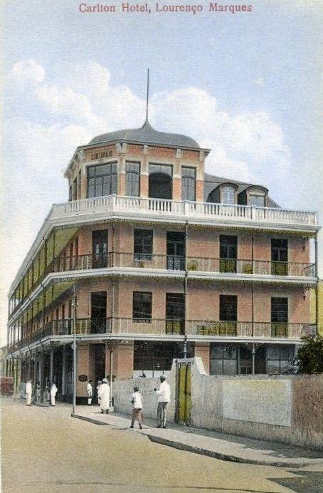 O Hotel Carlton em Lourenço Marques, anos 30.