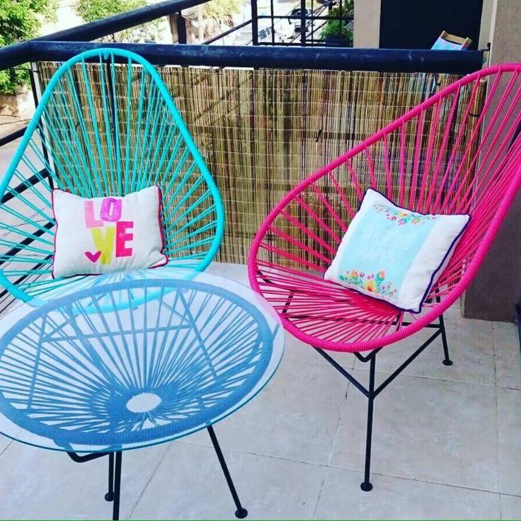 1 sillas acapulco forma huevo 900 00 en mercado libre patio devspark pinterest silla. Black Bedroom Furniture Sets. Home Design Ideas