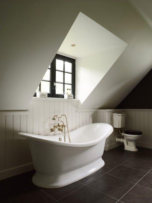 vrijstaand bad - landelijke badkamer  Taps & Baths