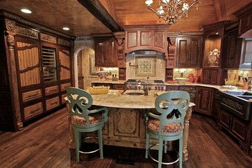 Tuscan Kitchen Design, Pictures, Remodel, Decor and Ideas - page 25