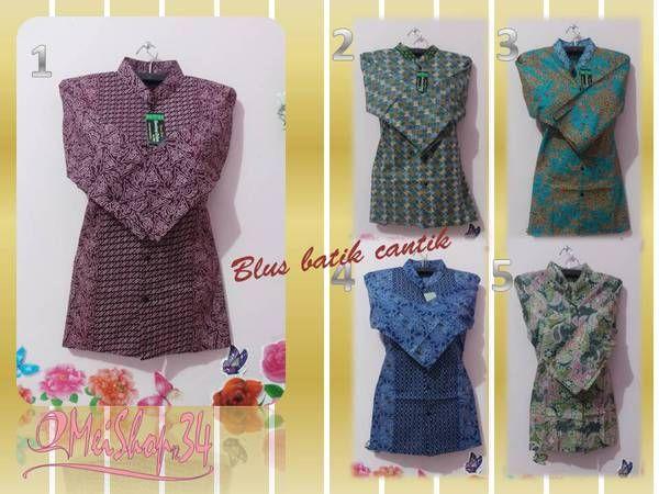 Blus Batik Cantik @35.000 bbm 21719a5b
