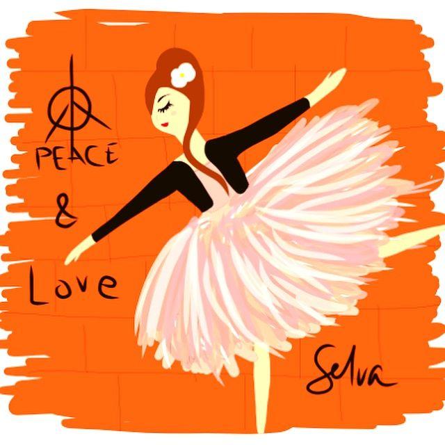#ballet #ballerina #illustration