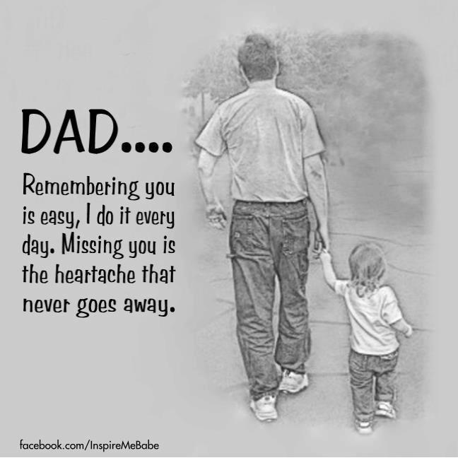 Missing My Dad...