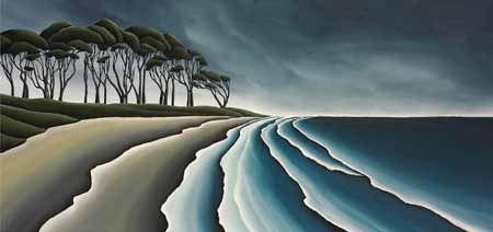 Haast Coast Canvas Print by Diana Adams for Sale - New Zealand Art Prints