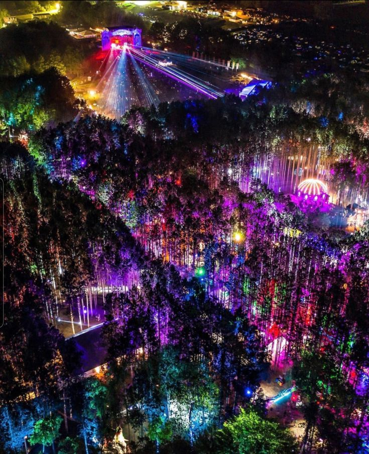 Electric forest festival in 2020 Electric forest