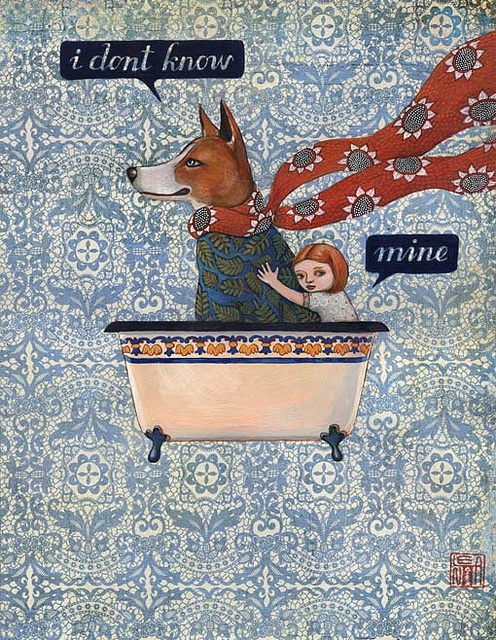 Lena Revenko  good boy series: the risk of love is loss by revolenka, via Flickr
