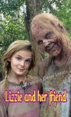 The Walking Dead, Lizzie Samuels