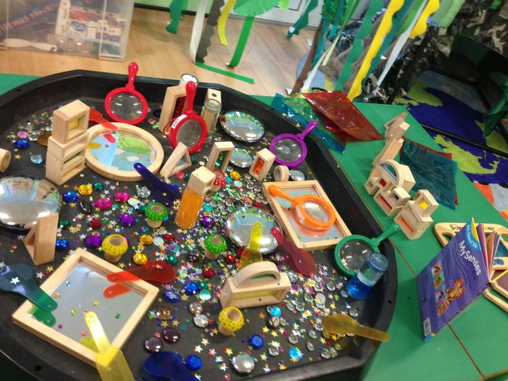 Colour, shape, counting exploration EYFS