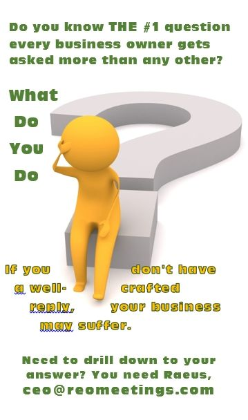 Drilling down with the wordsmith to find your answer to the #1 business Q.    #PersonalBranding #MarketingYourself