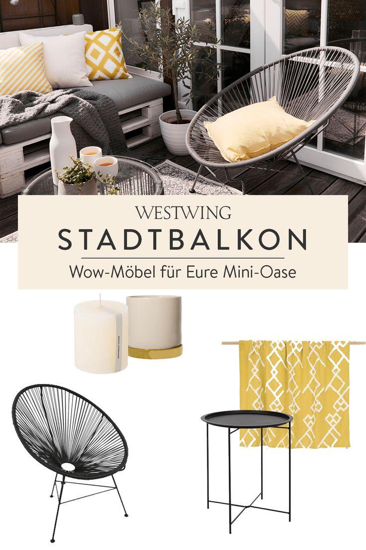 Stadtbalkon   Wenig Platz, viel Style Wow Möbel für Ihre Mini ...