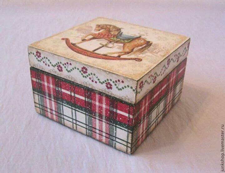 .caja papel escocés