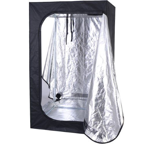 Giantex Indoor Grow Tent Room Reflective Mylar Hydroponic Non Toxic Clone Hut 6 Size (48  sc 1 st  Pinterest & Giantex Indoor Grow Tent Room Reflective Mylar Hydroponic Non ...