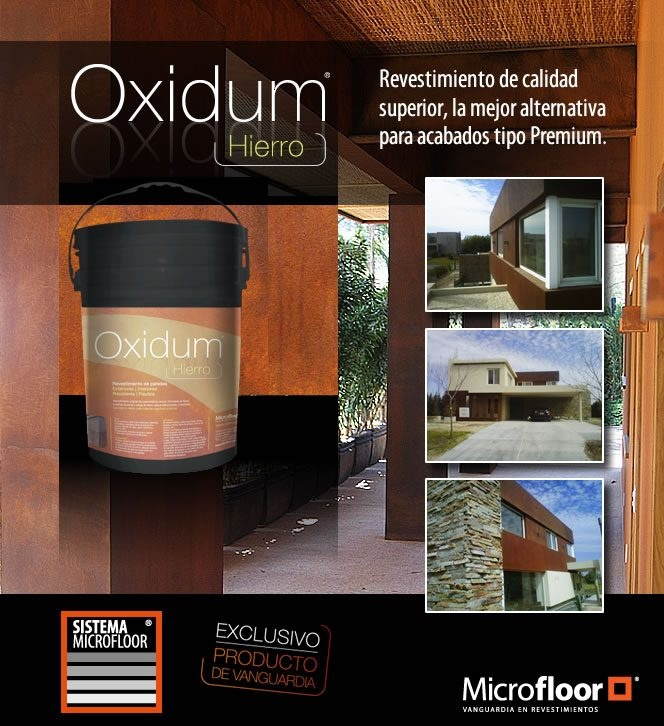 Revestimiento Línea Oxidum Acero