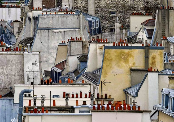 moodLKI.com: Paris roof tops by Michael Wolf