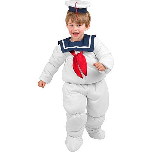 Kids Stay Puft Marshmallow Man Costume Jokers Party Supplies Popular Fancy Dress Costumes #staypuft #marshmallow
