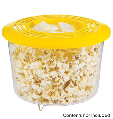 This product is neat. A cheaper and healthier way of getting your microwave popcorn. Only $12.99