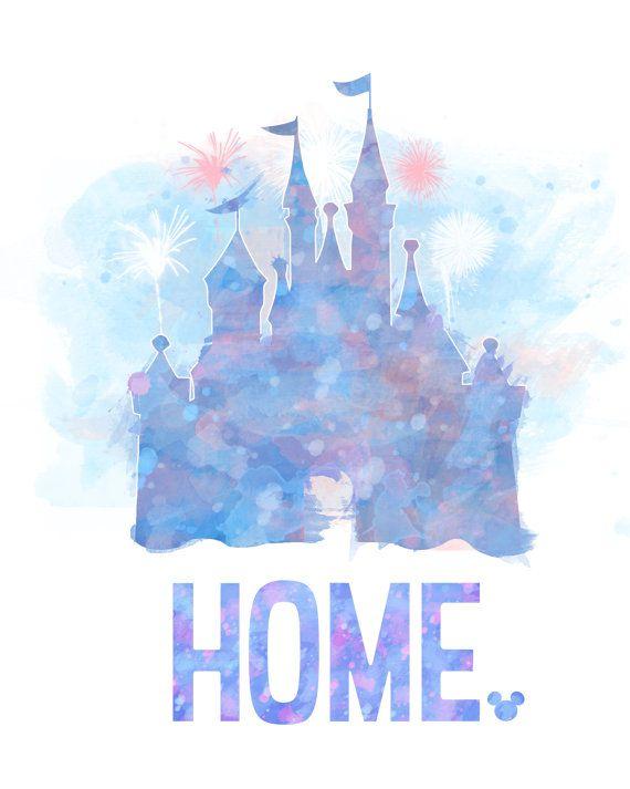 Disney HOME 8x10 Poster DIGITAL FILE / par LittoBittoEverything