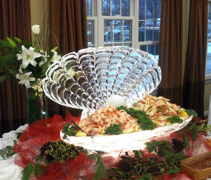 ICE SCULPTURES FOR WEDDINGS | Green Bay Ice Sculptures Wedding Centerpiece Event Holiday IdeasBar