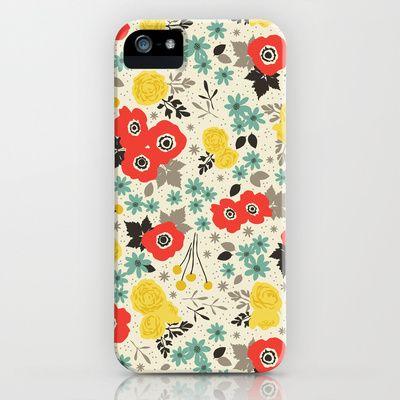 Blumen iPhone & iPod Case by Eine Kleine Design Studio - $35.00