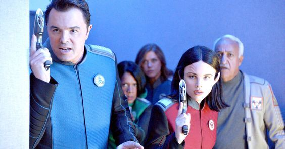 The Orville Trailer Goes Interstellar with Star Trek Jokes -- Seth MacFarlane's The Orville dropped a new trailer during San Diego Comic-Con that doubles down on the Star Trek parody angle. -- http://tvweb.com/orville-tv-show-trailer-comic-con-seth-macfarlane/