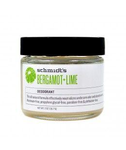 Déodorant naturel sans aluminium bergamote et citron vert - 57g