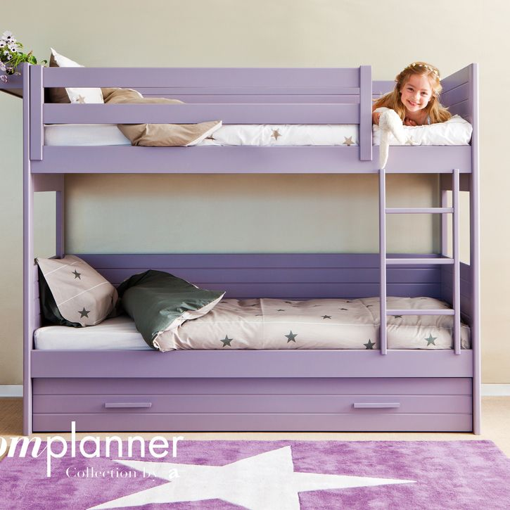 Bunk Bed by Asoral - Over 20 Colours | Nubie
