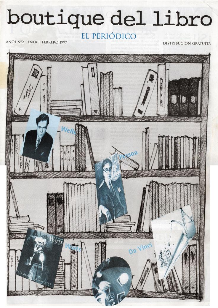 Edición 2 del Periódico Publicado por la Boutique del Libro San Isidro, 30 años