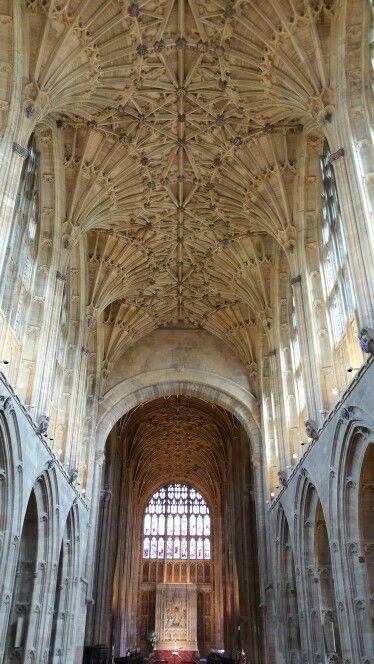 Fan vaulting Sherborne Abbey