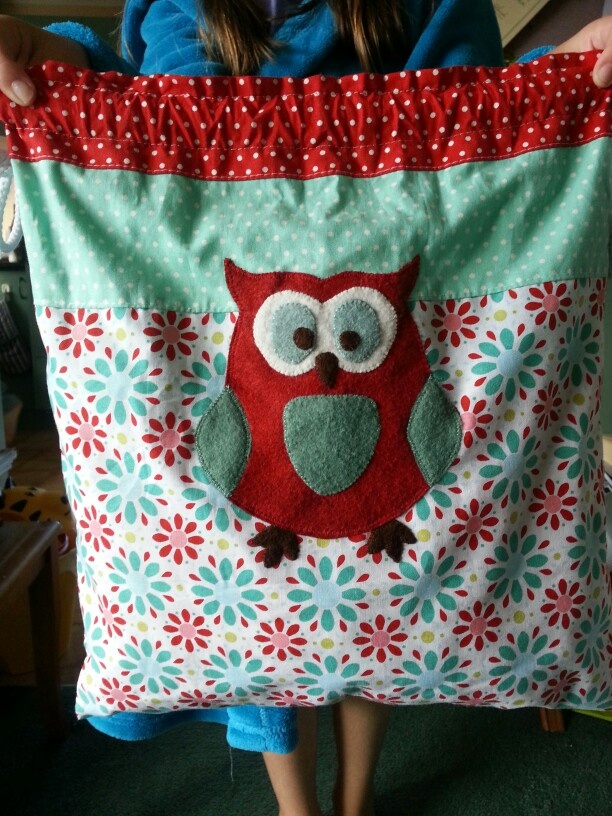 Sweet owl school bag