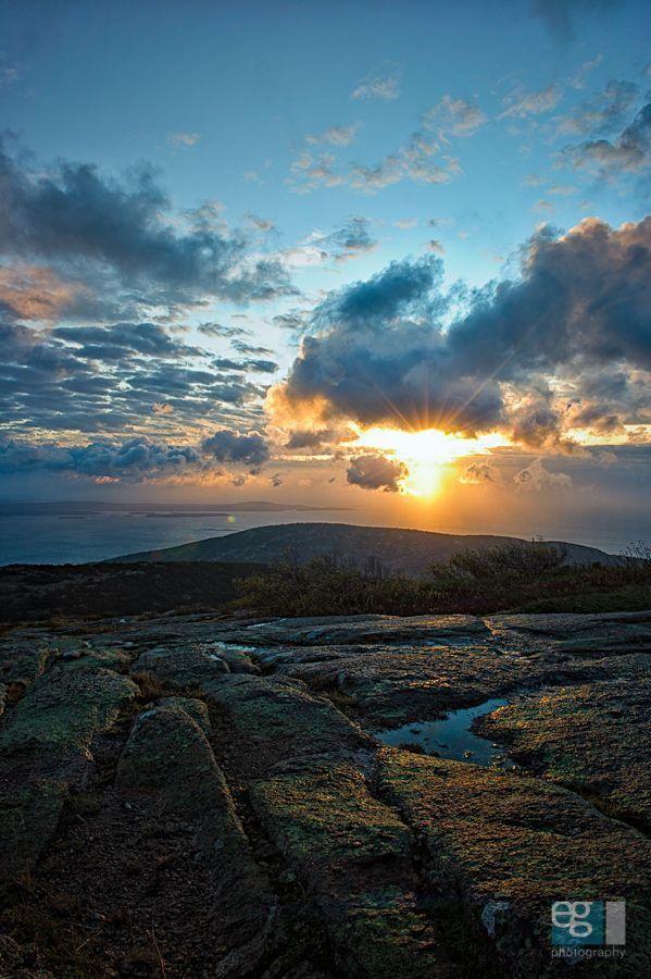 Top of Cadillac Mtn, Acadia National Park /  via Ed Gately