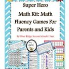 This year I wanted to send home a take home math kit with my students on Meet The Teacher Night as a way to say welcome to our classroom and to bui...