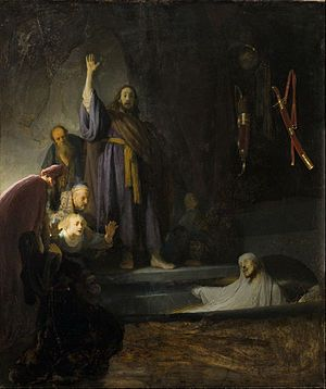 The Raising of Lazarus (Rembrandt) - Wikipedia, the free encyclopedia