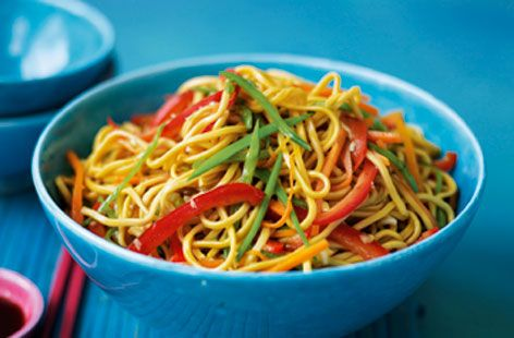 Celebrate the Chinese New Year with these delicious oriental themed recipes:Ken Hom vegetable chow mein recipe.