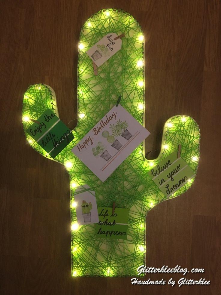 DIY – Kaktus Lampe