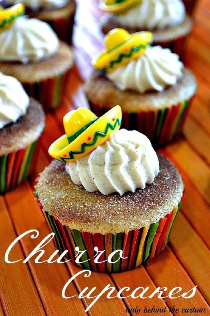 Churro Cupcakes       Little Mariachi Pinatas / Party Decor       Super Fresh Tacos for your guests       DIY Streamer Decorations       ...