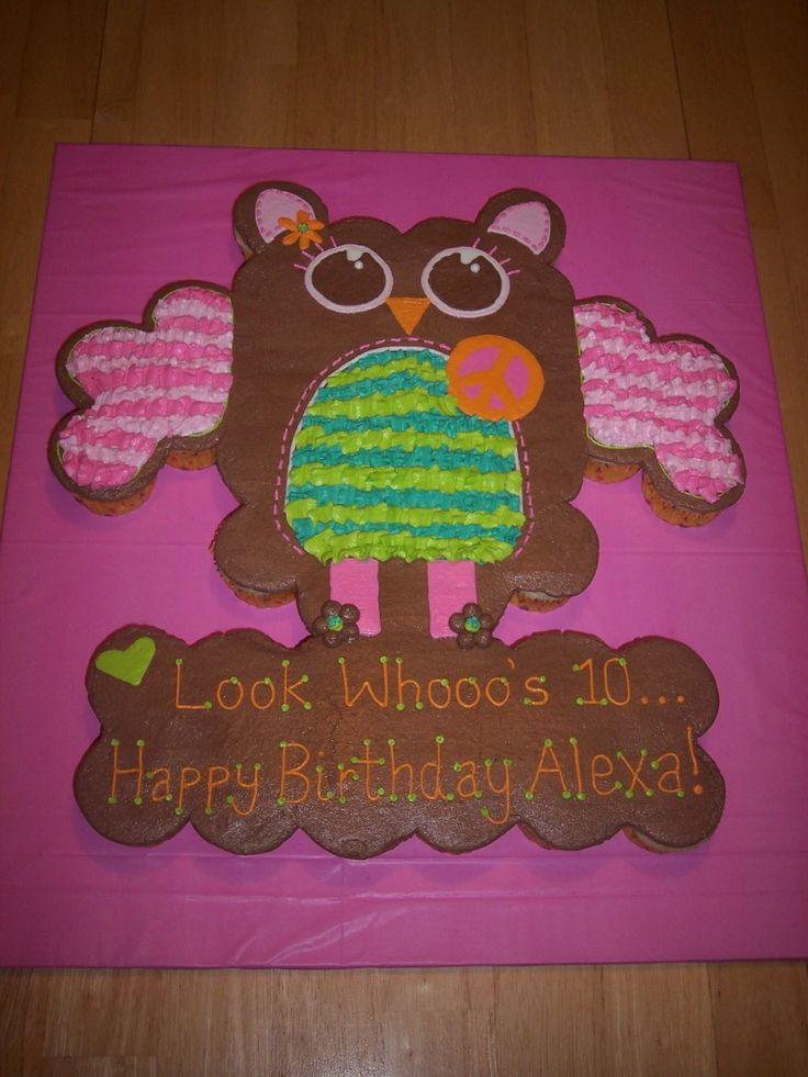Best 25+ Owl cupcake cake ideas on Pinterest Owl cupcakes, Cupcake decorating supplies and ...