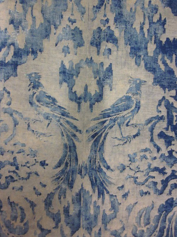Textile panel detail - Mariano Fortuny c. 1915
