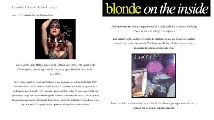 Blonde on the Inside.  http://blondeintheinside.com