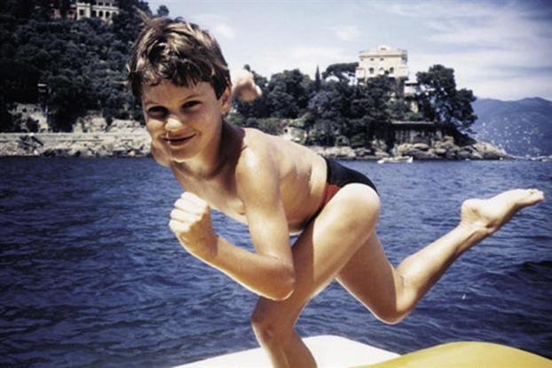 Así era Federer de niño
