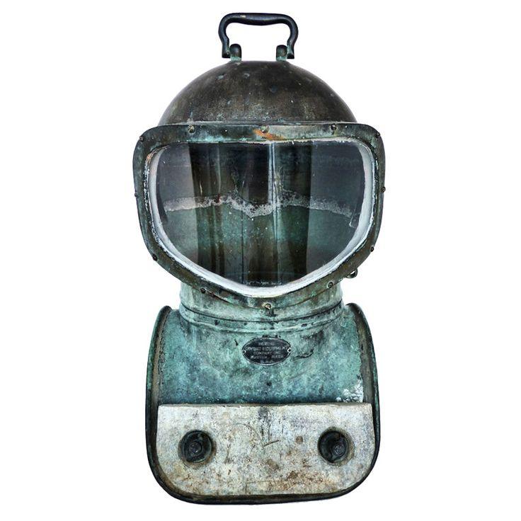 Vintage Morse Nautical Shallow Water Dive Helmet No. 15