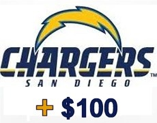 From one of our latest campaigns we gave away #free #Chargers tickets! #SanDiego