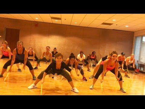 """THIS AIN'T A SCENE"" Fall Out Boys - Dance Fitness Workout with Drum Sticks Valeo Club - YouTube"