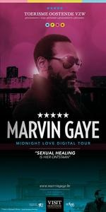 The unlikely love affair between Marvin Gaye and Ostend explored in the Marvin Gaye: Midnight Love Tour Walk-umentary. #Ostend #Oostende #MarvinGaye #Belgium