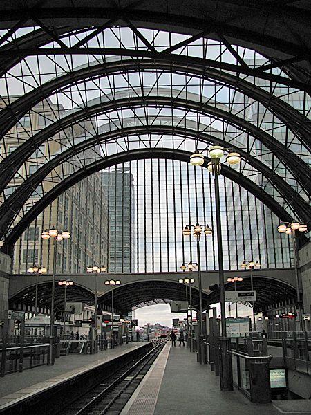 Canary Wharf DLR Station - Canary Wharf, London, UK