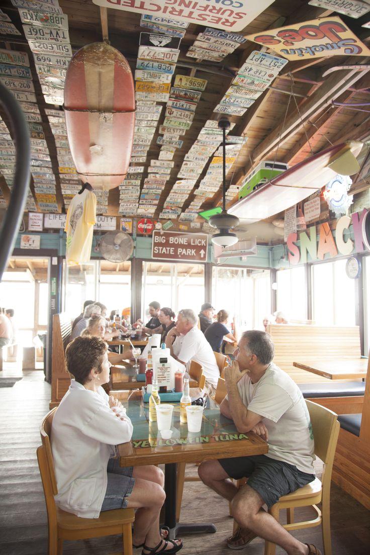 12 Best Florida Beach Bars | High Tides at Snack Jack | Flagler Beach